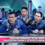 Christian Domínguez recibe duros calificativos durante entrevista radial