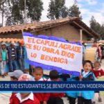 Otuzco: Más de 130 estudiantes se benefician con moderno colegio