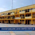 Colegio San Juan lucha contra venta de drogas