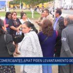 Trujillo: Comerciantes APIAT piden suspensión de sanción