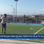Alto Salaverry: Entregan complejo multideportivo