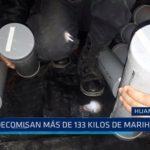 Huamachuco: Decomisan más de 133 kilos de marihuana