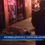 Chimbote: Asesinan a joven en centro poblado Miraflores
