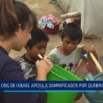ONG de Israel apoya a damnificados por quebrada El León