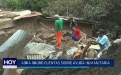 ADRA rindió cuentas sobre ayuda humanitaria