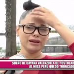 Sueño de Dayana Valenzuela de postular al certamen Miss Perú quedó truncado