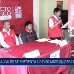 Informe Especial: Alcalde de Condormarca se enfrenta a revocador en debate del JNE