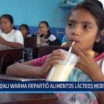 La Libertad: Qali Warma repartió alimentos lácteos modificados