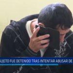 El Porvenir: Sujeto fue detenido tras intentar abusar de una menor de edad