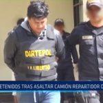 Chao: Detenidos tras asaltar camión repartidor de útiles