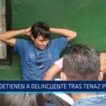 Trujillo: Detienen a delincuente tras tenaz persecución