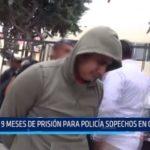 Trujillo: 9 meses de prisión para policía sospechoso de crimen