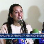 México: Familiares de periodista asesinado exigen justicia