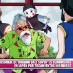 """Personaje de """"Dragon Ball Super"""" es denunciado en Japón por tocamientos indebidos"""