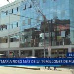 """Alcalde de El Porvenir: """"Mafia robó más de 14 millones de soles de municipio"""""""