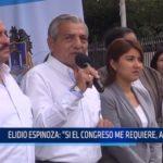 Elidio Espinoza es citado al Congreso para responder por recaudo electrónico