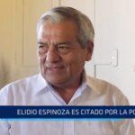 Trujillo: Elidio Espinoza es citado por la Presidencia del Consejo de Ministros