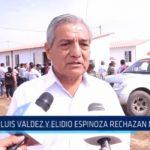 Trujillo: Luis Valdez y Elidio Espinoza rechazan marcha por la reconstrucción