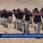 Trujillo: Agentes INPE son capacitados en situaciones de riesgo