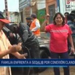 Trujillo: Familia enfrenta a Sedalib por conexión clandestina