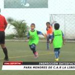 Inspección satisfactoria para menores de C.A.R. La Libertad