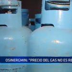"""Osinergmin: """"No podemos regular precio del gas"""""""