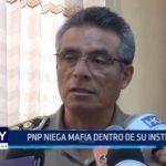 Policía Nacional niega mafia dentro de su institución