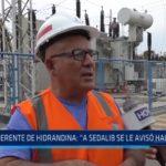 """Gerente de Hidrandina: """"Corte de agua no fue causado por corte de energía eléctrica"""""""