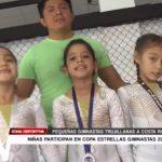 Pequeñas gimnastas trujillanas irán a Costa Rica