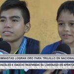 Gimnastas logran oro para Trujillo en Nacional