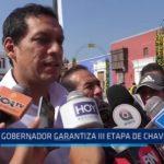 La Libertad: Gobernador garantiza tercera etapa de Chavimochic