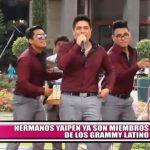 Hermanos Yaipén ya son miembros de los Grammy Latino
