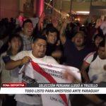Todo listo para amistoso ante Paraguay