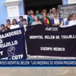 """Crisis Hospital Belén: """"La mejoras se verán progresivamente"""""""