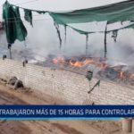 Laredo: Bomberos trabajaron más de 15 horas para controlar incendio