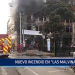 """Lima: Nuevo incendio en """"Las Malvinas"""""""