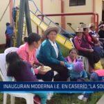 Quiruvilca: Inauguran moderna institución educativa en caserío La Soledad