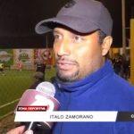 Exfutbolistas y aficionados participan en el Fútbol 7