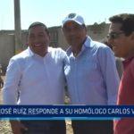 Huanchaco: José Ruiz responde a su homólogo Carlos Vásquez