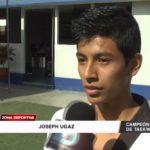 Taekwondo: Campeón nacional quiere ir a Costa Rica y Chile