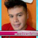 Joven peruano asegura que es hijo de Juan Gabriel