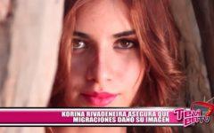 Korina Rivadeneira asegura que Migraciones dañó su imagen