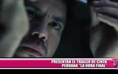 """Presentan el tráiler de cinta peruana """"La hora final"""""""