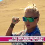 Leslie Shaw buscará conquistar mercado internacional junto a cantante Legarda