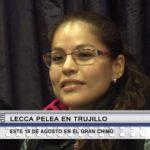 Box: Linda Lecca pelea en Trujillo este 19 de agosto