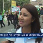 """Liseth Ruiz: """"No hay que hablar sin saber la verdad"""""""