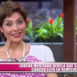 Lorena Meritano revela que su cáncer está en remisión