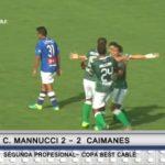Carlos A. Mannucci 2 – 2  Caimanes