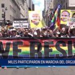 Estados Unidos: Miles participaron en marcha del Orgullo Gay