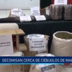 La Libertad: Decomisan cerca de 100 kilos de marihuana